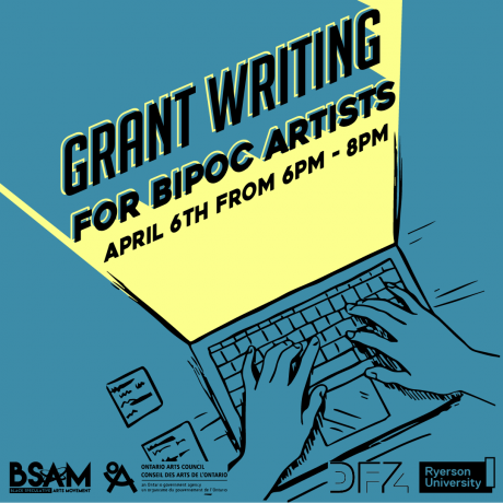 BSAMCanada_BIPOC Grant Writing Workshop